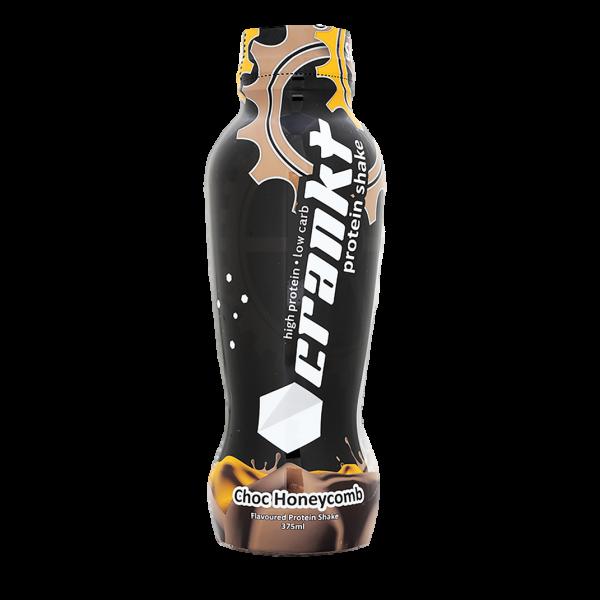 Crankt-Protein-Shake-375ml-Choc-honeycomb